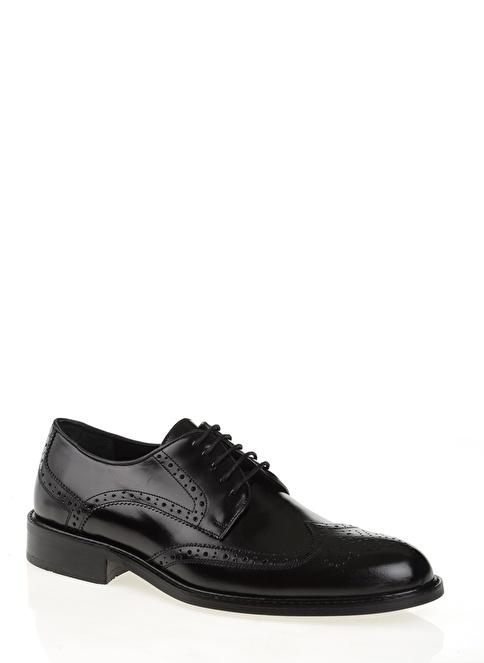 D by Divarese % 100 Deri Klasik Ayakkabı Siyah